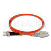پچ کورد SC-ST مالتی مود(PATCH CORD SC-ST)