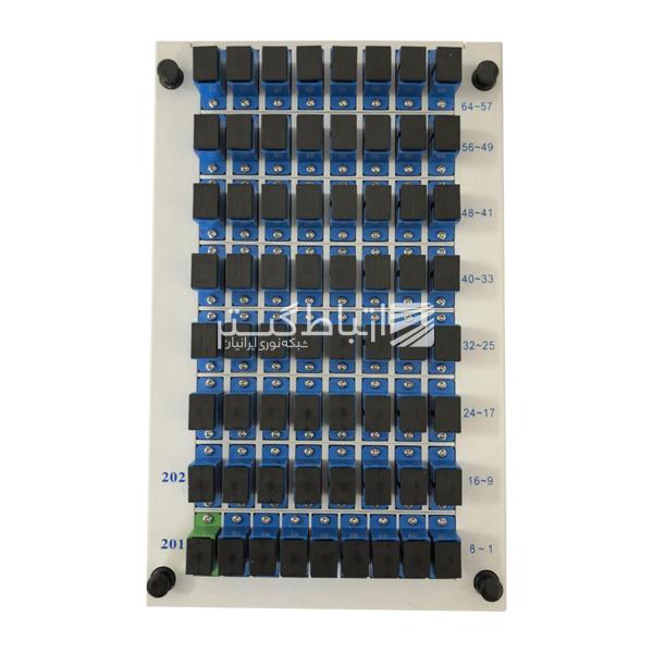 fiber optic splitter 1X64 rack mount
