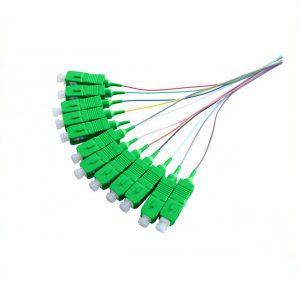 پیگتیل فیبر نوری سینگل مود SC/APC